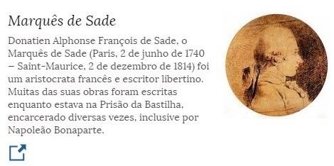 2 de junho - Marquês de Sade - escritor francês.jpg