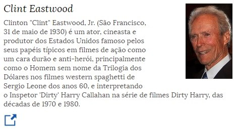 31 de maio - Clint Eastwood, ator, cineasta, produtor cinematográfico e compositor norte-americano.jpg