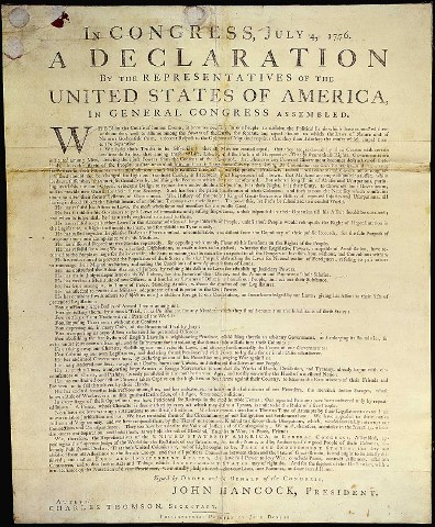 Hot Essays: Essay on Declaration of Independence