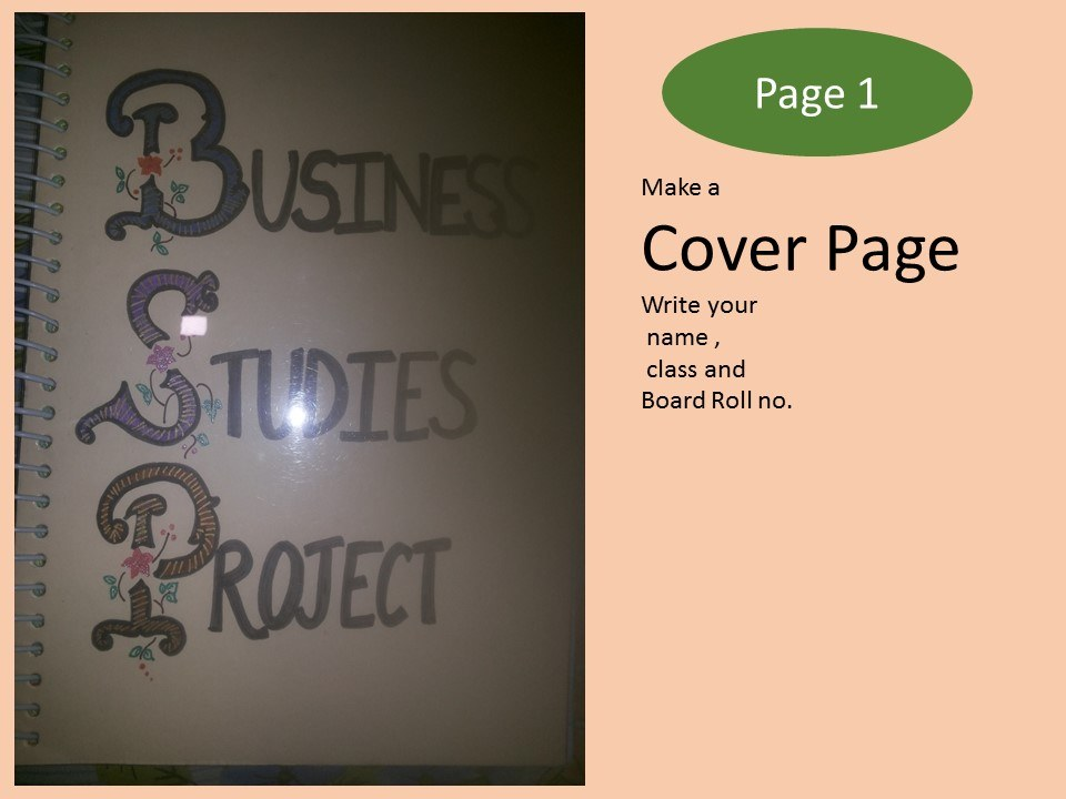 cover page design for maths project